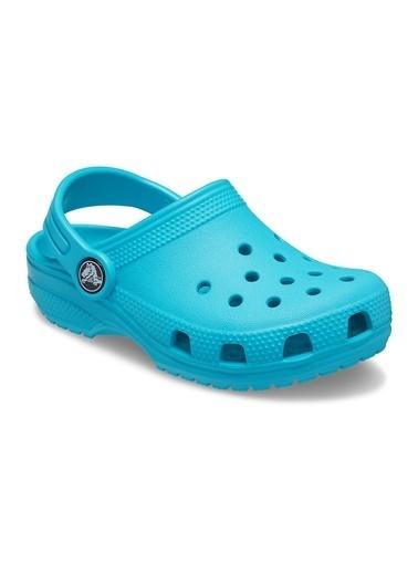 Crocs 204536-4Sl Kids Classic Clog Çocuk Terlik Mavi